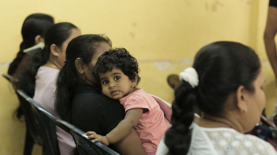 Newborne care and immunization in Sri Lanka