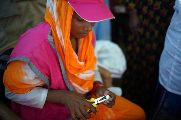 Rohingya in Bangladesh - Oral Cholera Vaccination