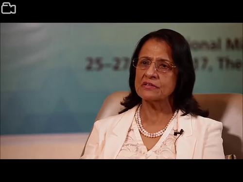 Interview with Dr Poonam Khetrapal Singh, Regional Director of the WHO South-East Asia Region, during the regional meeting on ending neglected tropical diseases, held in Jakarata from 25 to 27 April 2017.